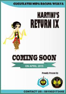Kartini Return IX Tahun 2015